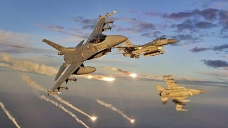TSK'dan Kuzey Irak'a son dakika hava operasyonu