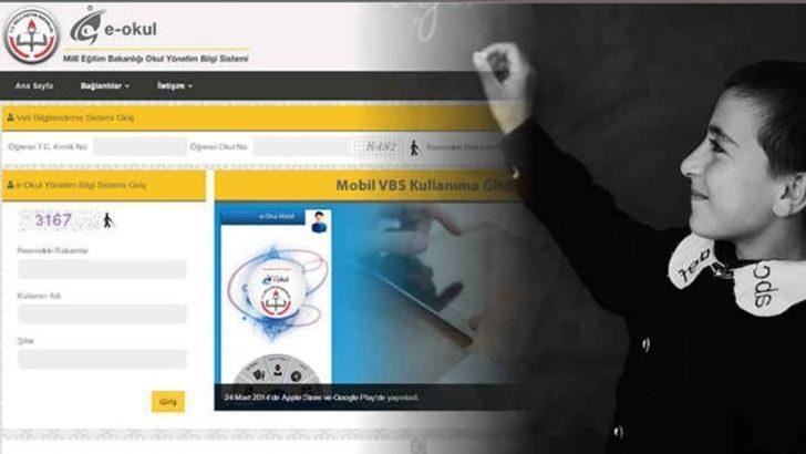 e-Okul Karne notları öğrenme ile karneleri görebilirsiniz