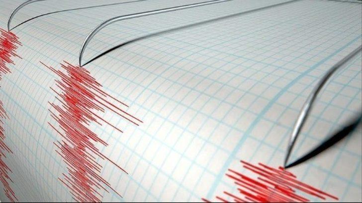 Kaş açıklarında deprem