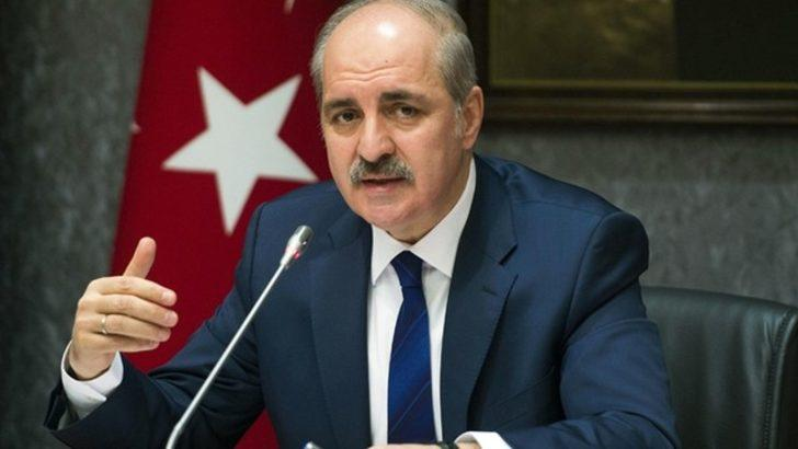 Numan Kurtulmuş'tan PKK/PYD açıklaması