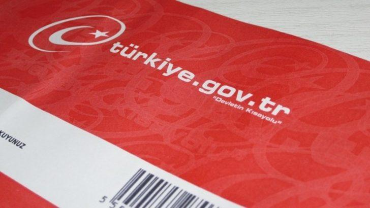 GBT işlemleri ve Sabıka Kaydı sorgulama e-Devlet kapısında