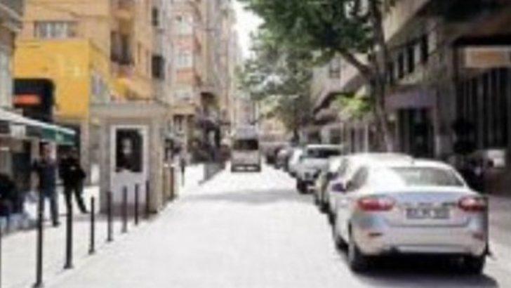 Taksim'de 'yorgun mermi' dehşeti