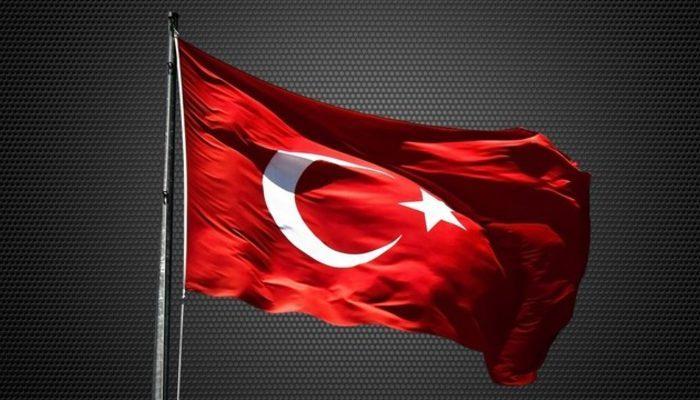 Türk bayrağını indirmeye çalışan yolcu linç ediliyordu