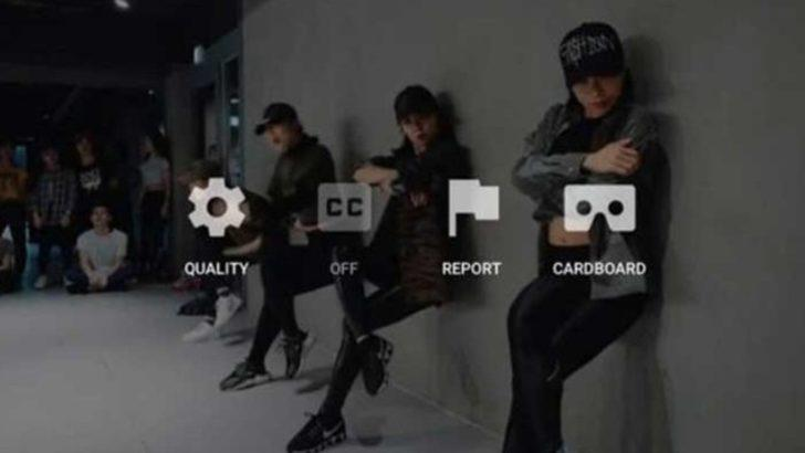 Youtube, VR Video kalitesini geliştirdi