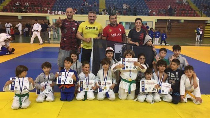Judo turnuvasında başarı