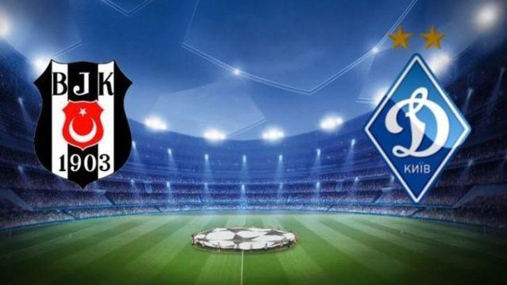 Beşiktaş Dinamo Kiev Maçı Canlı Anlatım