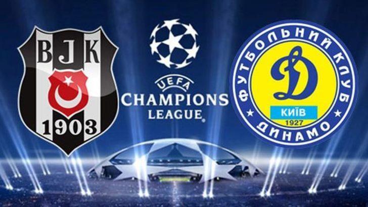 Beşiktaş Dinamo Kiev Maçın Geniş Özeti Golleri İzle Maç özeti