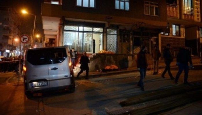 İstanbul Küçükçekmece'deki cinayet güvenlik kamerasında