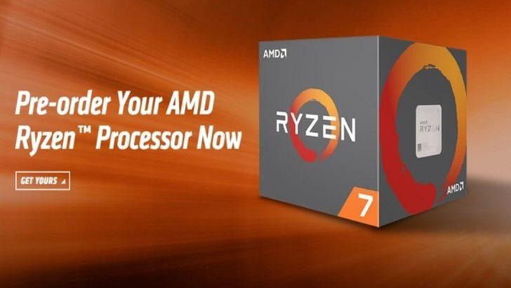 AMD Ryzen serisi yükselişe geçti