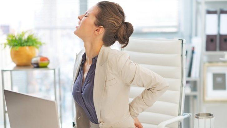 Baş ağrısından sonra en çok görülen ikinci ağrı: Bel Ağrısı