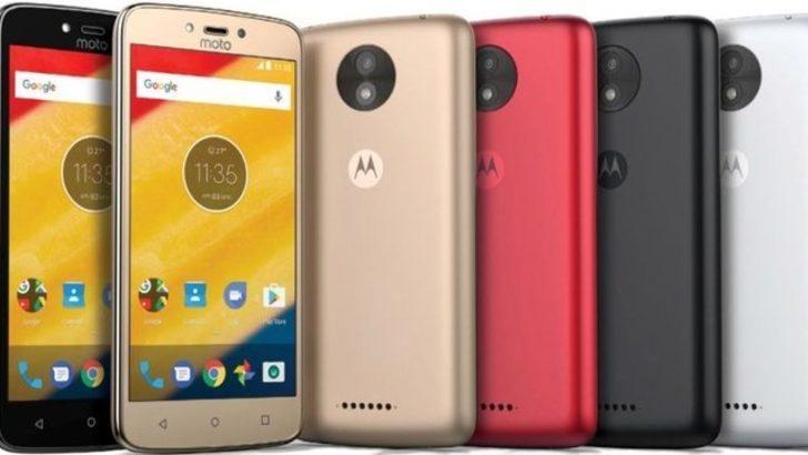 Motorola'nın çıkardığı en ucuz akıllı telefon: Moto C