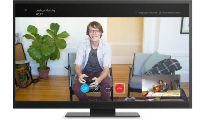 Xbox One için Universal Skype uygulaması çıktı