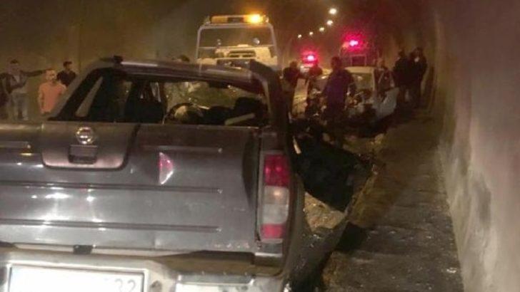 Artvin'de tünelde trafik kazası: 3 ölü