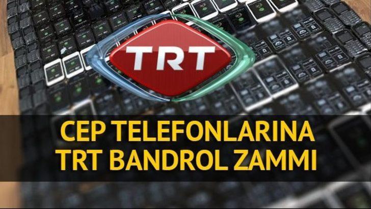 TRT bandrol ücretleri artırıldı! Cep telefonları fiyatları ...