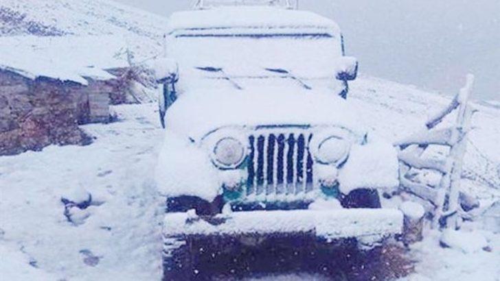 Dört kentte kar sürprizi: Şoke eden görüntüler!