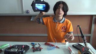 Ortaokul öğrencisi 'bomba bulan drone' tasarladı, Cumhuriyet Resepsiyonu'na davet edildi