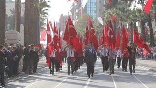 Denizli'de Cumhuriyet'in 94'üncü yıl dönümünü kutlamaları