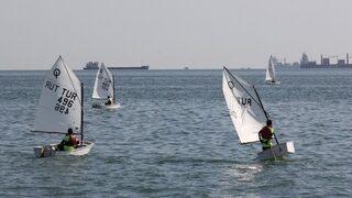 Cumhuriyet Bayramı Yelken Kupası Yarışları başladı