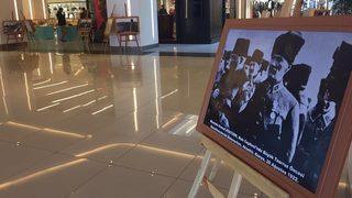 Erzincanpark AVM'de ki Atatürk konulu sergiye yoğun ilgi