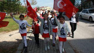 Edirne'de Cumhuriyet Bayramı coşkusu