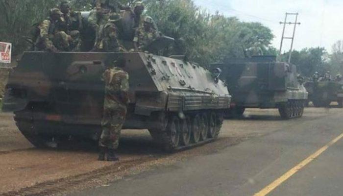 Zimbabwe'de neler oluyor? Ülke şokta! Tanklar sokaklara çıktı...