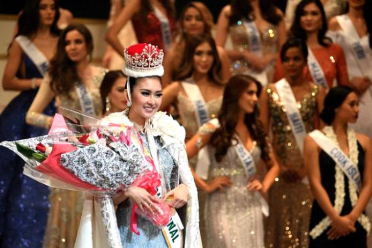 Miss International'ı Endonezyalı güzel kazandı
