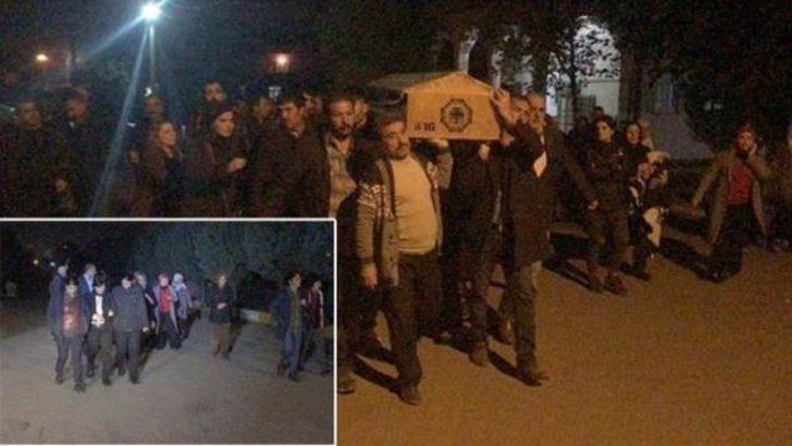 PKK'lı cenazesine giden HDP'lilere soruşturma açıldı