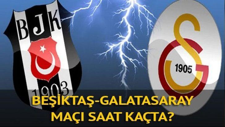 Süper Ligde BJK- GS derbi heyecanı: Beşiktaş - Galatasaray maçı ne zaman, saat kaçta, hangi kanalda?