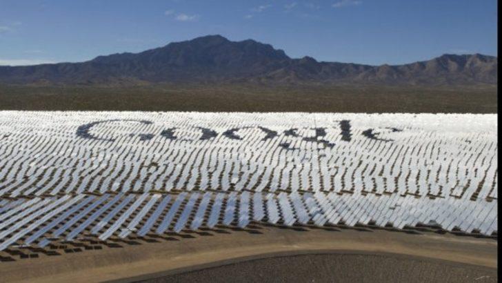 Google şirketi temiz enerji konusundaki hedefine ulaştı