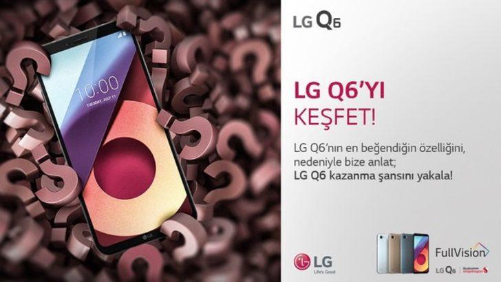 LG Q6 kullanıcıları, Aralık ayında da kazanacak!