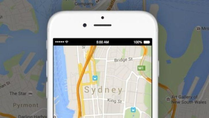 Google Haritalar'a Motosiklet Modu