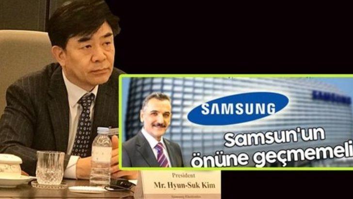 Yanlış duymadınız! Samsung'dan Samsun açıklaması