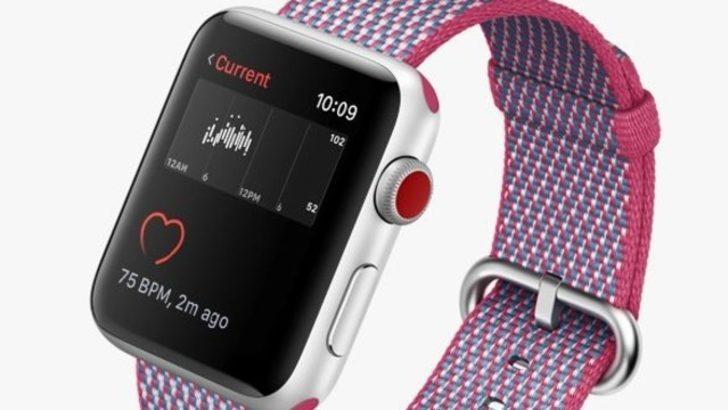 Apple, spor saatlerine meydan okuyor