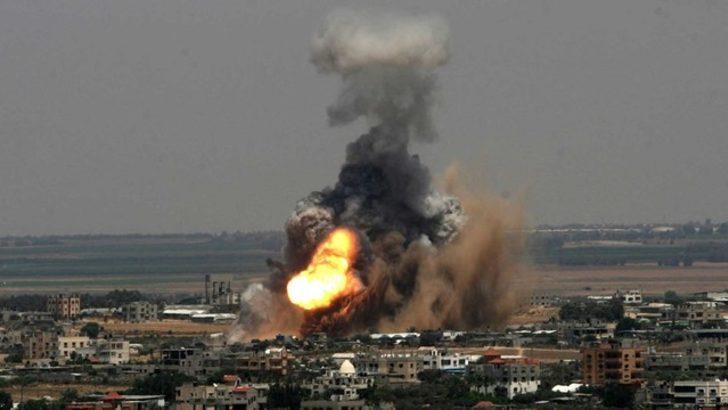 ABD'nin Kudüs kararının ardından roketler atıldı savaş uçakları havalandı