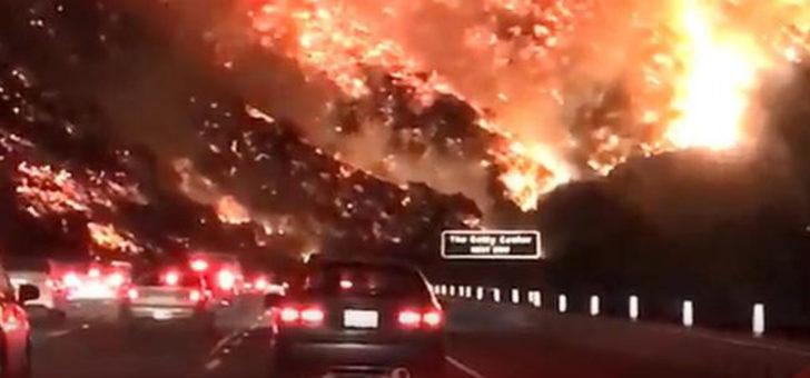 Bir eyalet yanıyor...
