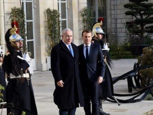 Macron'dan Netanyahu'ya: Filistinlilere bir jest yap