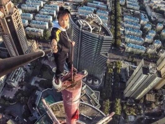 Ünlü Çinli akrobatın feci ölümü