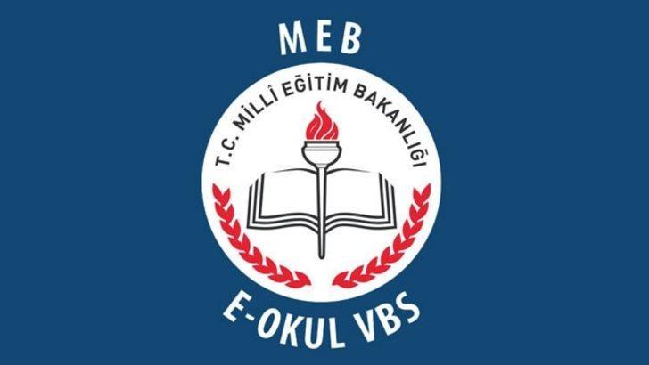 E-okul VBS girişi ile 2017 sınav sonuçları öğrenme, takdir teşekkür hesaplama
