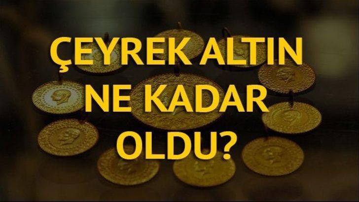 Çeyrek altın ne kadar oldu? Gram altın kaç lira? İşte 21 Aralık güncel altın fiyatları