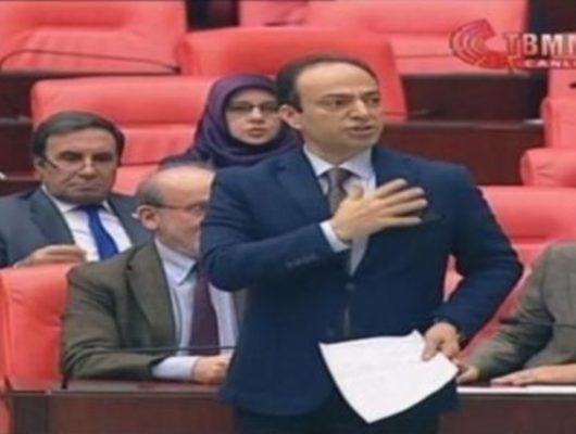 Meclis'te 'Ben Kürdistan vekiliyim' diyen Osman Baydemir'e ceza