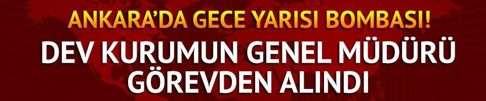 Ankara'da gece yarısı bombası!