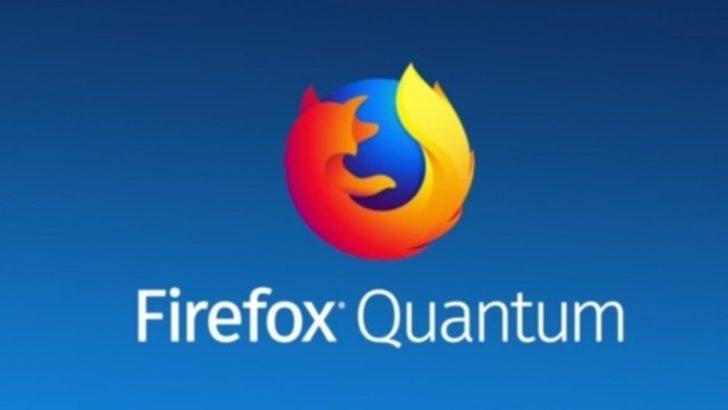 Firefox Quantum hızla yükseliyor