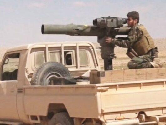 Türkiye korkusuyla eller tetikte bekliyorlar! Afrin'de büyük yığınak