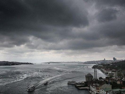 İstanbul'da şiddetli sağanak! Meteoroloji son hava durumu raporunda uyardı