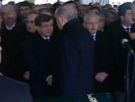 Yavuz Yılmaz'ın cenazesinde soğuk rüzgarlar