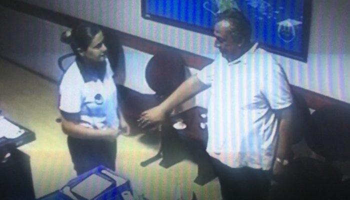 Dikili Belediye Başkanı Tosun'un şok görüntüleri! Taciz iddiası İzmir'i karıştırdı