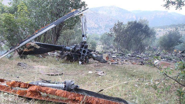 Bitlis'te düşen Cougar tipi helikopterlerin Türkiye'deki kazaları!
