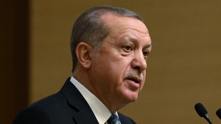 Erdoğan: Oraya benden başka kimse afiş asamazdı