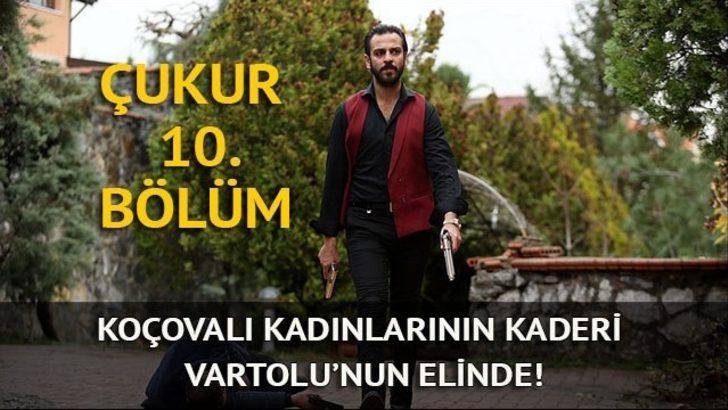 Çukur 10. yeni bölüm izle: Vartolu, Sultan ve Sena'yı son anda kurtarıyor!