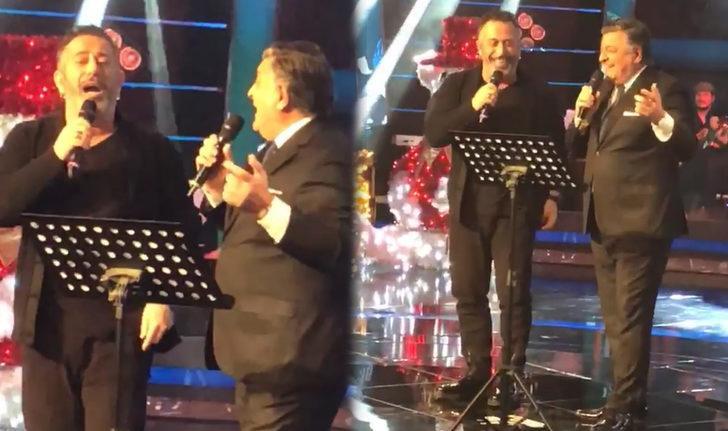 O Ses Türkiye yılbaşı özel bölümünde Cem Yılmaz ve Yılmaz Vural düeti